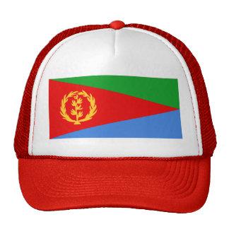 Gorra de la bandera de Eritrea