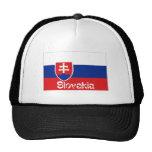 Gorra de la bandera de Eslovaquia