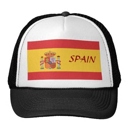 Gorra de la bandera de España