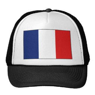 Gorra de la bandera de Francia
