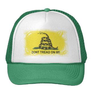 Gorra de la bandera de Gadsden