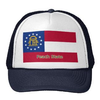 Gorra de la bandera de Georgia