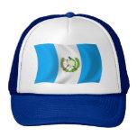 Gorra de la bandera de Guatemala