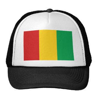 Gorra de la bandera de Guinea-Conakry