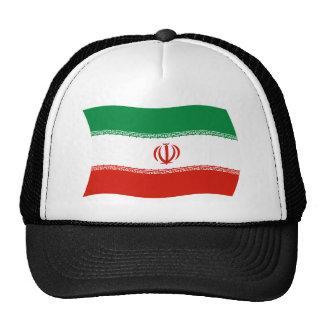 Gorra de la bandera de Irán