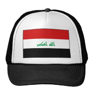 Gorra de la bandera de Iraq