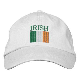 Gorra de la bandera de Irlanda del día de St Patri Gorras De Béisbol Bordadas