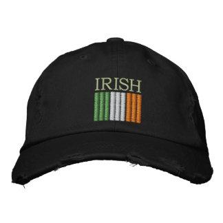 Gorra de la bandera de Irlanda del día de St Patri Gorra De Beisbol Bordada