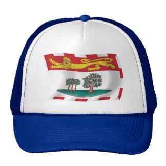 Gorra de la bandera de Isla del Principe Eduardo