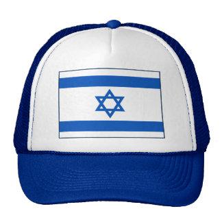 Gorra de la bandera de Israel