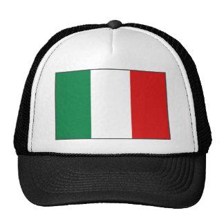 Gorra de la bandera de Italia