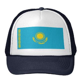 Gorra de la bandera de Kazajistán