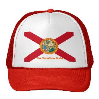 Gorra de la bandera de la Florida