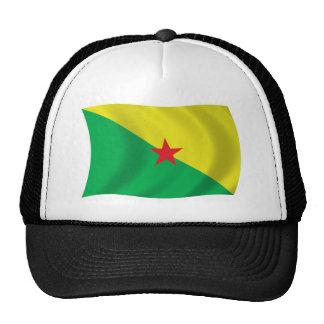 Gorra de la bandera de la Guayana Francesa