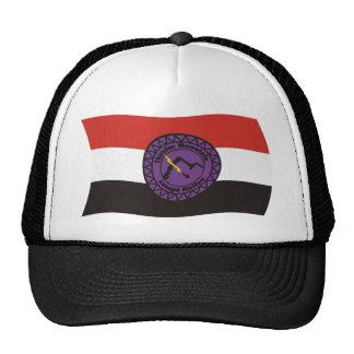 Gorra de la bandera de la nación de Lenape de la