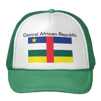 Gorra de la bandera de la República Centroafricana