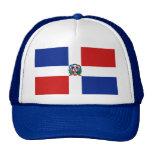 Gorra de la bandera de la República Dominicana