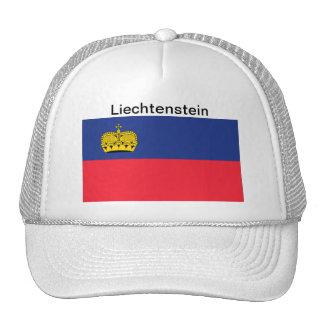 Gorra de la bandera de Liechtenstein