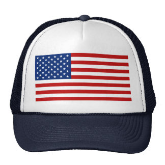 Gorra de la bandera de los E.E.U.U.
