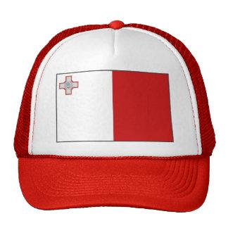 Gorra de la bandera de Malta