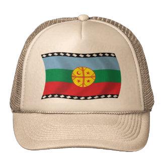 Gorra de la bandera de Mapuches