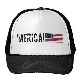 'Gorra de la bandera de Merica los E.E.U.U.