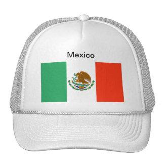 Gorra de la bandera de México
