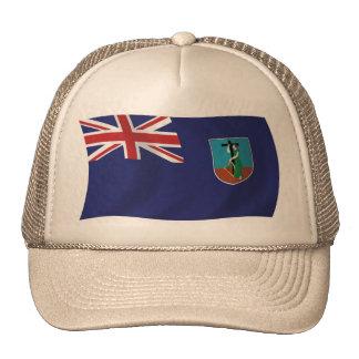 Gorra de la bandera de Montserrat
