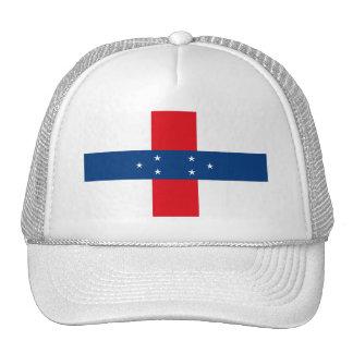 Gorra de la bandera de Netherland Antillas