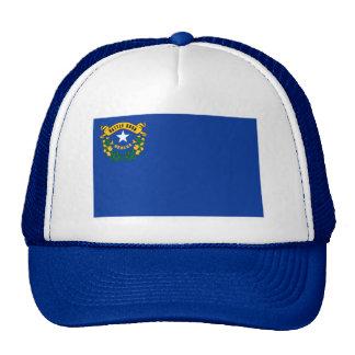 Gorra de la bandera de Nevada