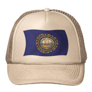Gorra de la bandera de New Hampshire