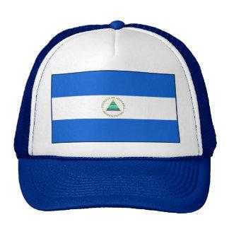 Gorra de la bandera de Nicaragua