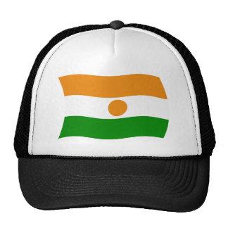 Gorra de la bandera de Niger