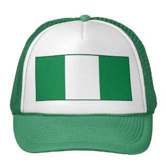 Gorra de la bandera de Nigeria