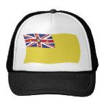 Gorra de la bandera de Niue