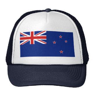 Gorra de la bandera de Nueva Zelanda