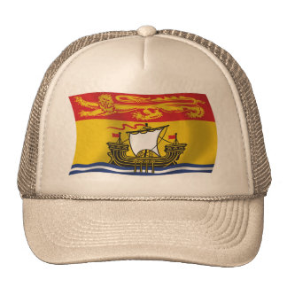 Gorra de la bandera de Nuevo Brunswick