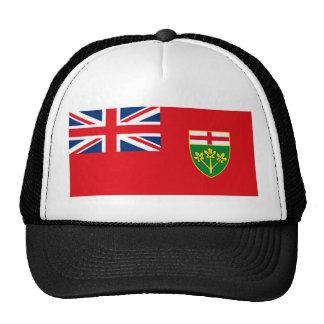 Gorra de la bandera de Ontario