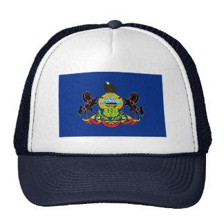Gorra de la bandera de Pennsylvania