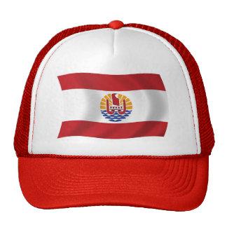 Gorra de la bandera de Polinesia francesa