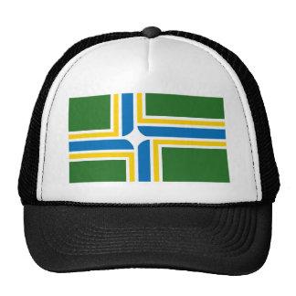 Gorra de la bandera de Portland