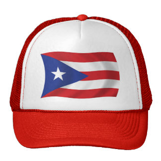 Gorra de la bandera de Puerto Rico