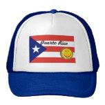 Gorra de la bandera de Puerto Rico - modificado pa