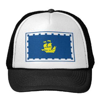 Gorra de la bandera de Quebec