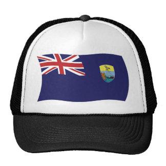 Gorra de la bandera de Santa Helena