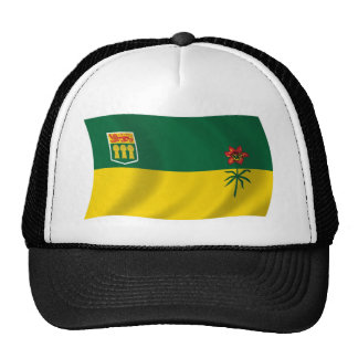Gorra de la bandera de Saskatchewan