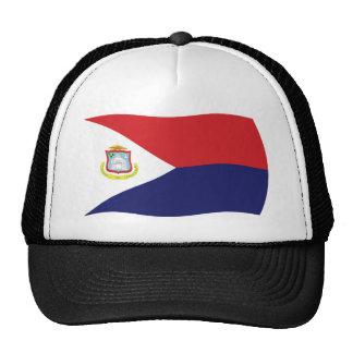 Gorra de la bandera de Sint Maarten