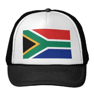 Gorra de la bandera de Suráfrica