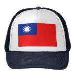 Gorra de la bandera de Taiwán