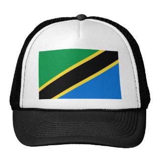 Gorra de la bandera de Tanzania
